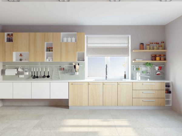 What is the Golden Triangle Rule in a designing Modular Kitchen?